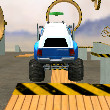 Monster Truck 3D Arena Stunts Game Online kiz10