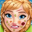 Anna Skin Care Game Online kiz10