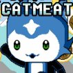 Cat Meat Game Online kiz10