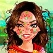 Wonder Woman Face Care and Make Up Game Online kiz10
