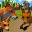 Fox Family Simulator Game Online kiz10