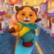 Play game online Red Panda Surfer