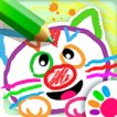 Play game online Arty Mouse Coloring  ..