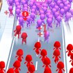 Play game online Crowd City 2