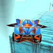Fly Car Stunt Game Online kiz10