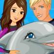 Espect�culo de delfines