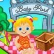 Baby Ella on a Picnic