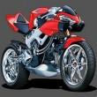 Honda Racing Motorcycle Puzzle