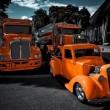 Orange Trucks Puzzle