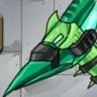 Combine! Dino Robot - Ptera Green