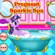 Pregnant Sparkle Spa