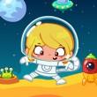 Astronaut Slacking