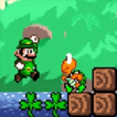 Mario in Leprechaun Island