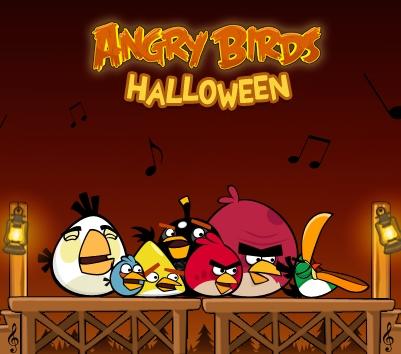Game Angry Birds Halloween en HD
