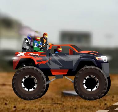 Truck battle