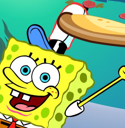 Spongebob and pizzas