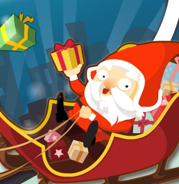Santa in distress