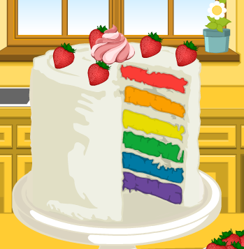 Pastel arco iris