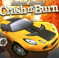 Game Burnin' rubber crash and burn