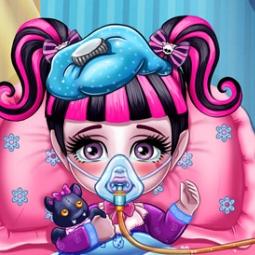 Game Baby monster flu doctor