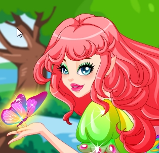 Game Flower Fairy in the Butterflies