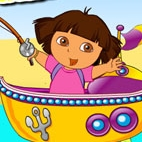 Game Dora Fishing Adventure Games