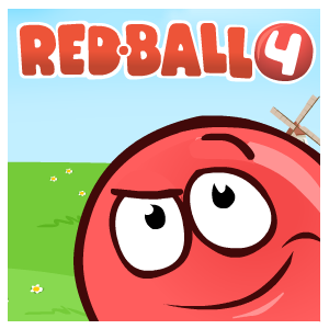Game Red ball 4