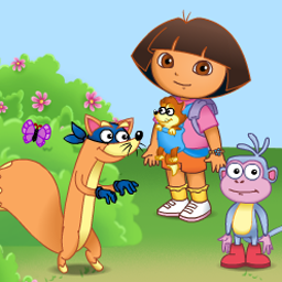 Game Baby Dora: Swipers Forest Adventure