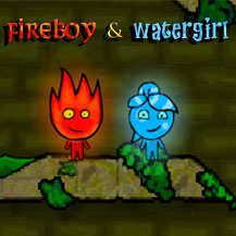 Game Fireboy and Watergirl: The Forest Temple