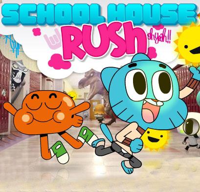 Gumball School House Rush Game Play Online Kiz10 Kiz