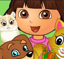 Game Dora Pets Care