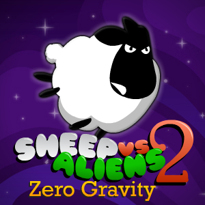 Game Sheep vs Aliens 2