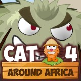 Game Cat Around Africa