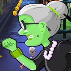 Game Angry Gran Run Halloween