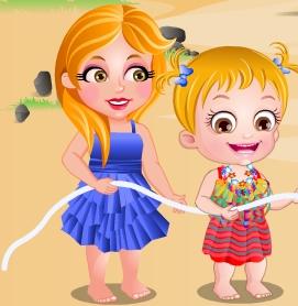 Game Baby Hazel Strandparty