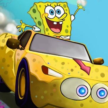 Game Spongebob Speed Car Racing