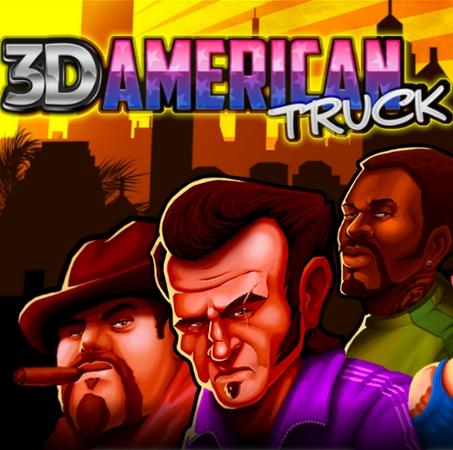 Game 3D American Truck