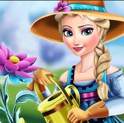 Game Elsa Ice Flower