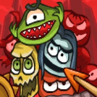 Game Roly-Poly Cannon: Bloody Monsters Pack 2