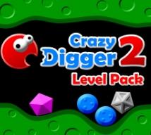 Game CRAZY DIGGER 2 LEVEL PACK