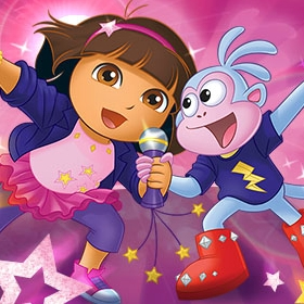 Game Dora Rocks Sing-Along