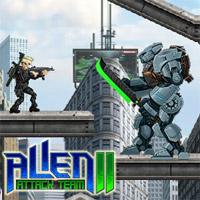 Game Alien Attack Team 2