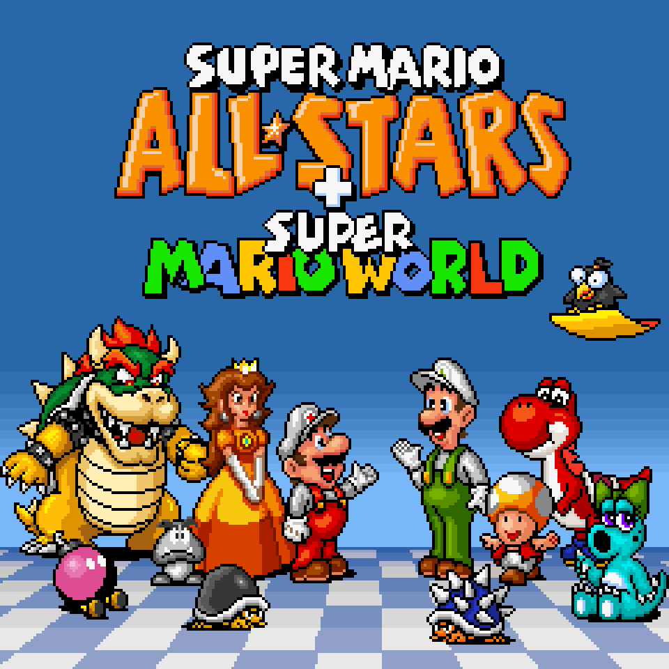 Game Super Mario All Stars