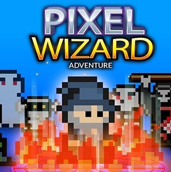 Game Pixel Wizard Adventure