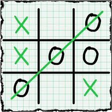 Game Tic Tac Toe: Paper Note