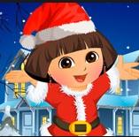 Game Dora Christmas Time
