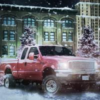 Game Pickup Truck Nigh Parking