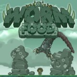 Game Worm Food