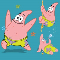 Game Patrick Starfish Memory