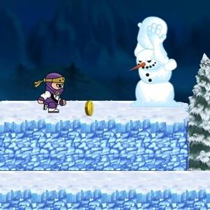 Ninja Ben in Winterland